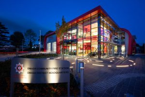 Architectural Lighting | Omagh Fire Station| Light Lab