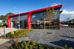 Architectural Lighting   Omagh Fire Station  Light Lab