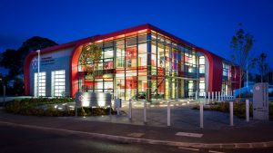 architectural lighting omagh fire station lightlab full 1