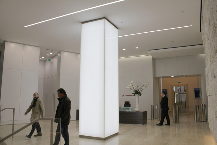 101 Bishopsgate | commercial lighting | The Light Lab