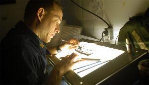 backlit tables