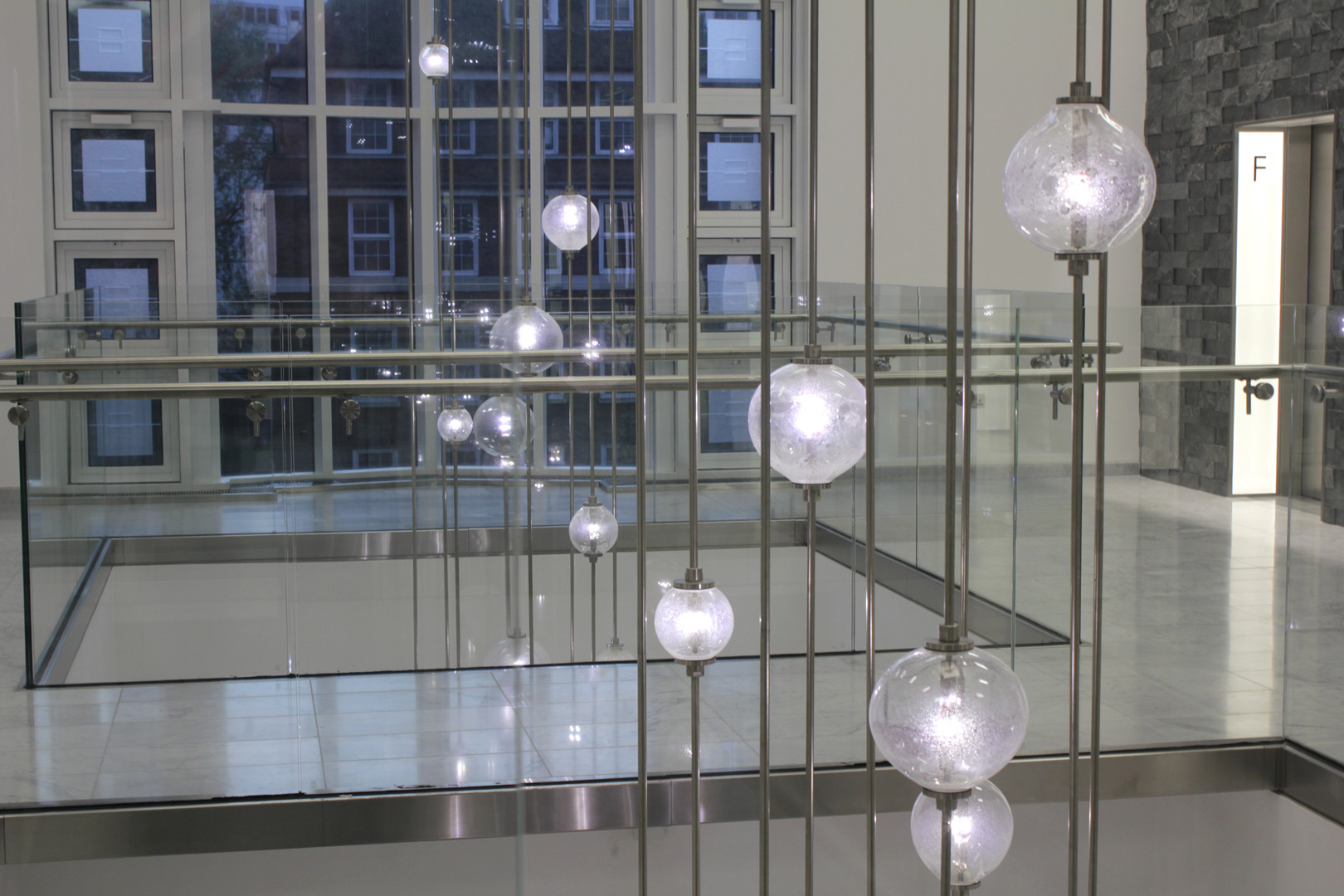bespoke lighting bespoke atrium chandelier lightlab 4