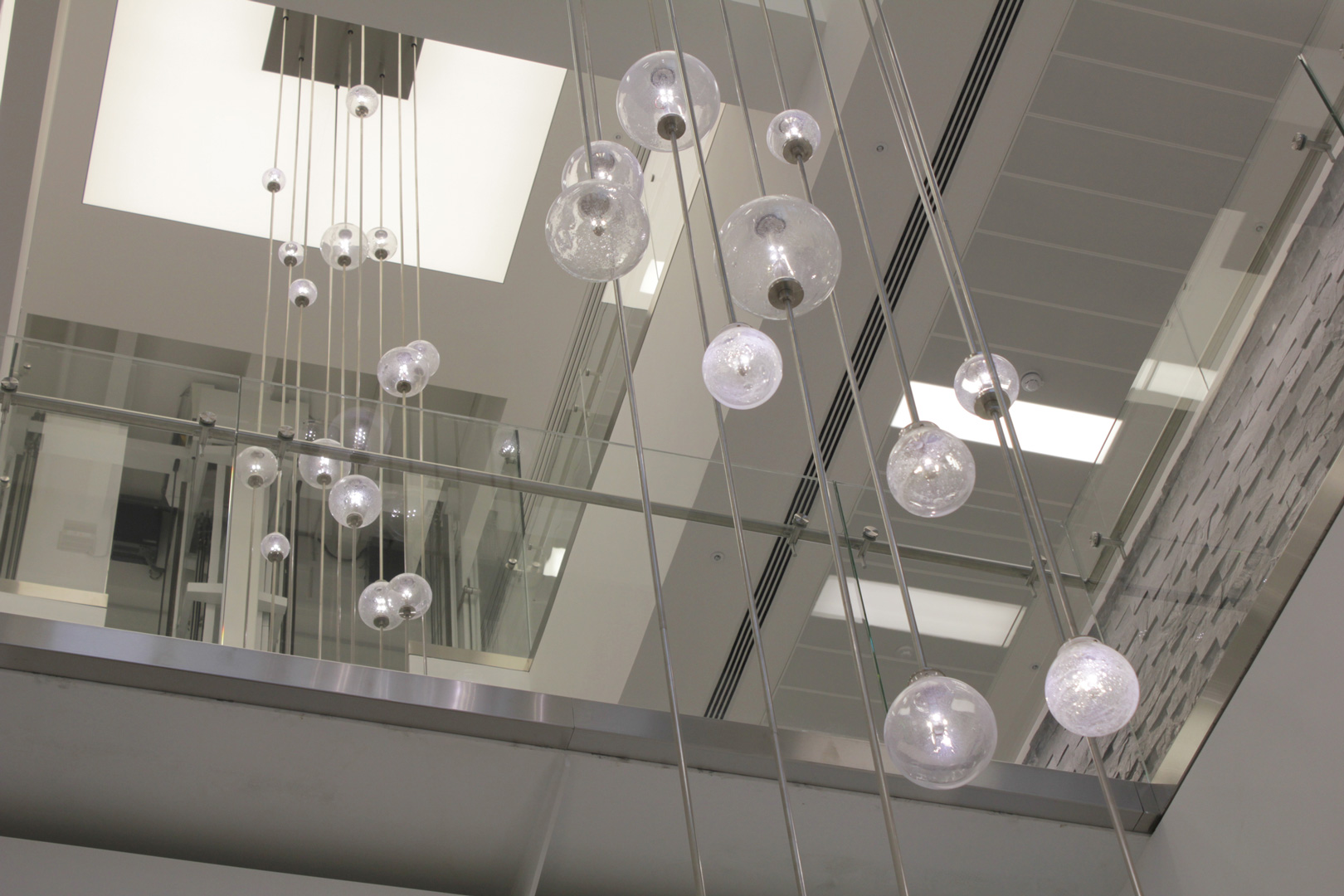 bespoke lighting bespoke atrium chandelier lightlab 5