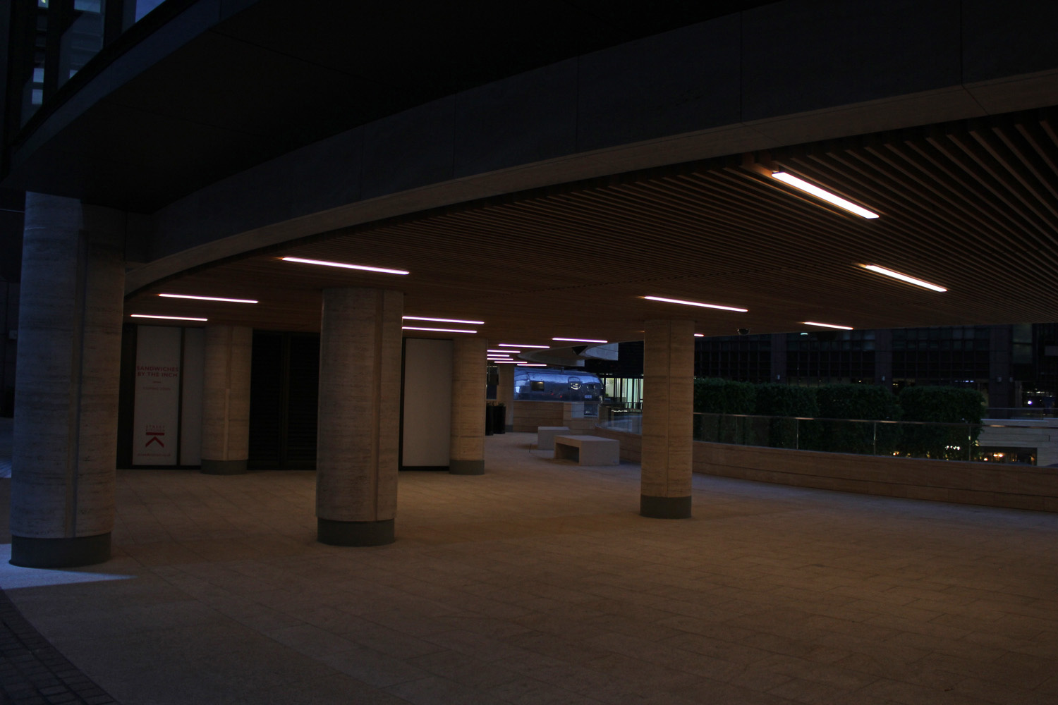 bespoke lighting broadgate circle lightlab 5
