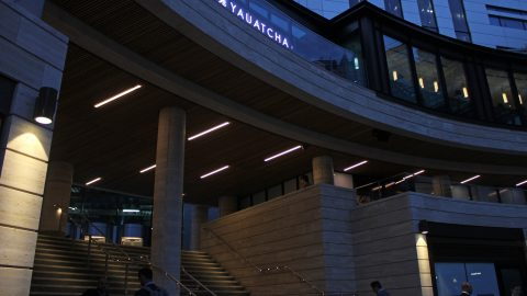 bespoke lighting broadgate circle lightlab 8
