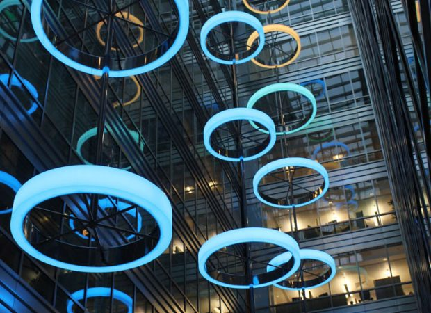 Bespoke Lighting | Broadgate Quarter | Light Lab