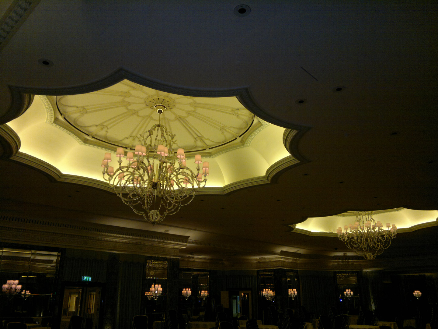 bespoke lighting dorchester ballroom lightlab 5