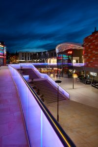 Bespoke Lighting | Friars Walk, Newport | Light Lab