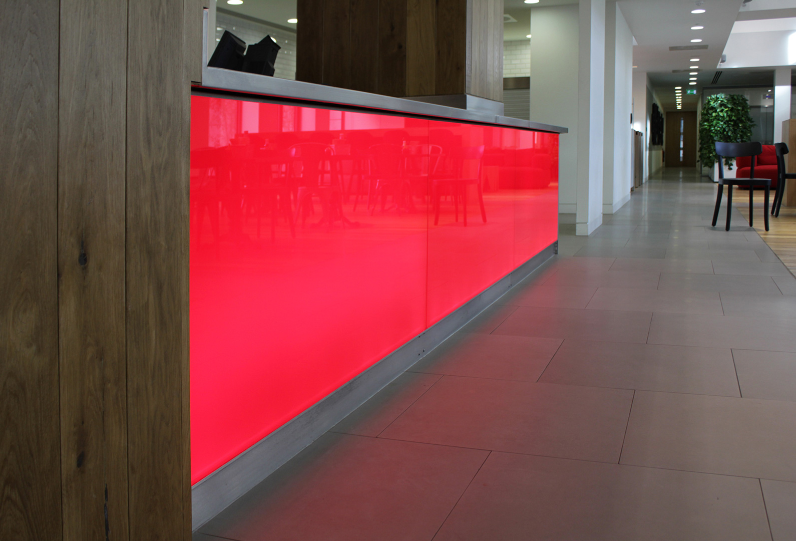 Bespoke Lighting | Office interior, London | Light Lab