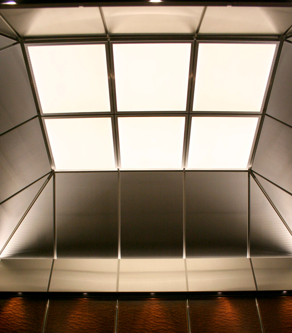 Bespoke Lighting   One Canada Square   Light Lab
