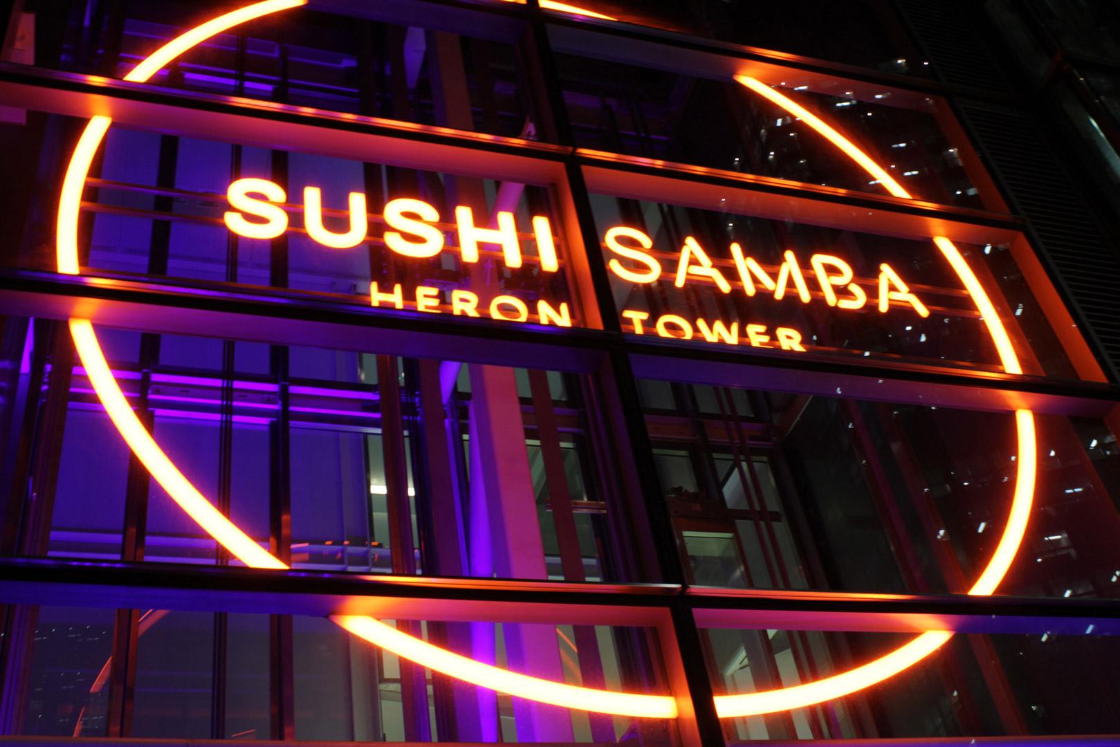 bespoke lighting sushisamba london lightlab 4