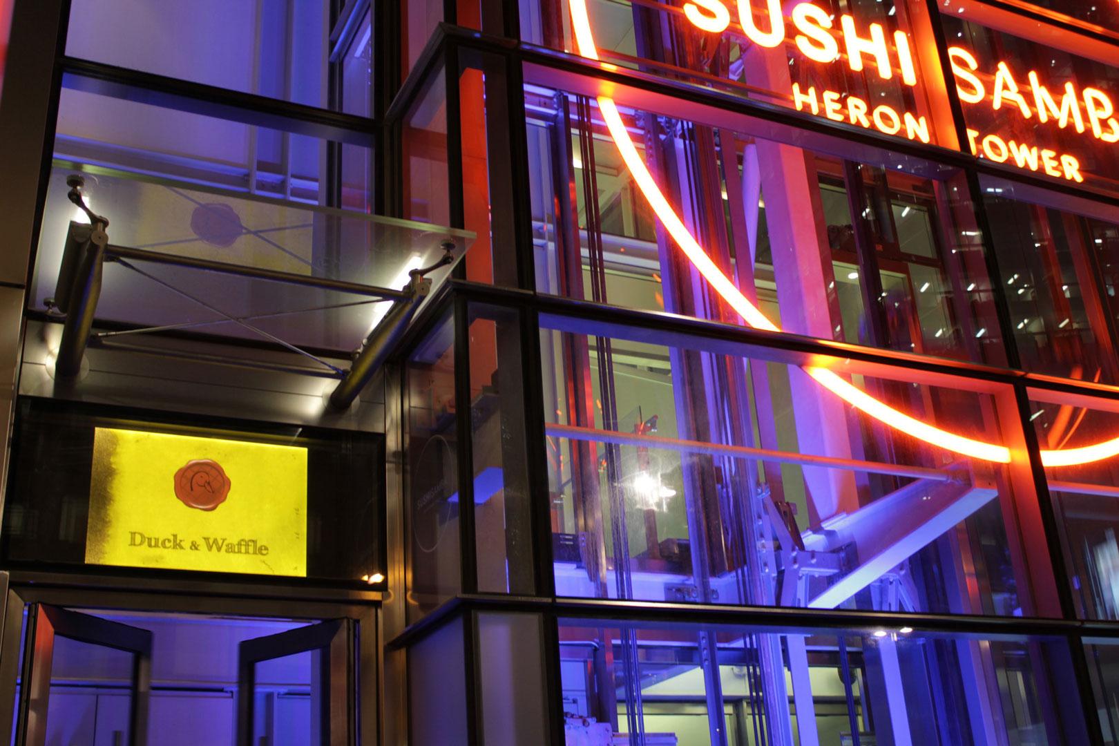 bespoke lighting sushisamba london lightlab 5