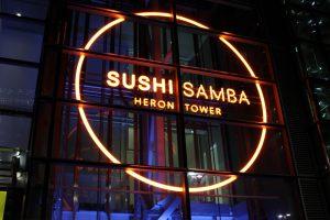 Bespoke Lighting   SushiSamba, London   Light Lab