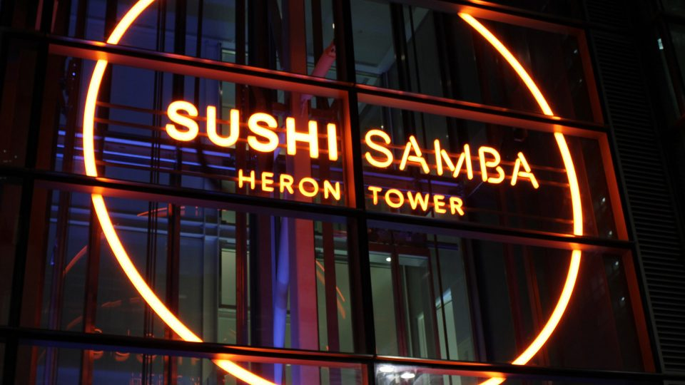 Bespoke Lighting | SushiSamba, London | Light Lab