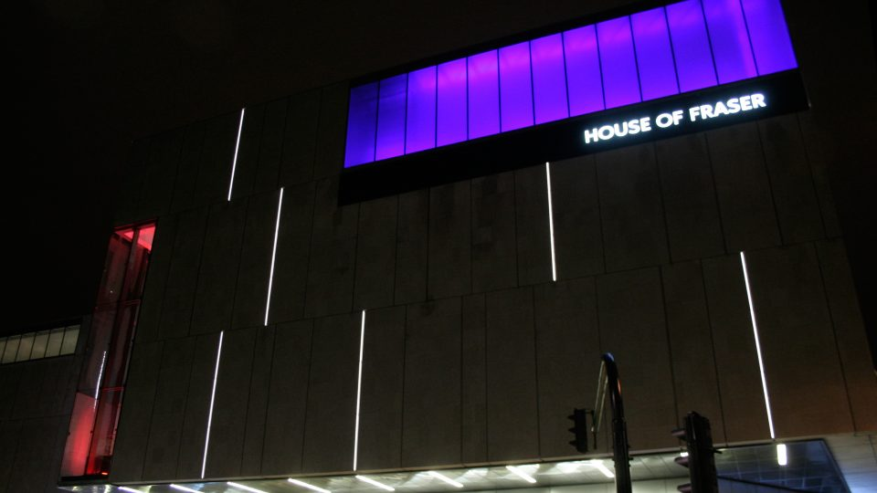 Broadmead Shopping Centre | Exterior lighting | The Light Lab