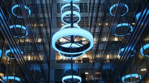 Broadgate Quarter | Bespoke Light Feature | The Light Lab