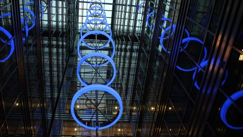 Broadgate Quarter | Bespoke Atrium Lighting | The Light Lab