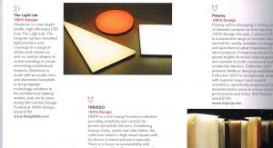 ICON 100% Design products October 2013 – Glowform feature