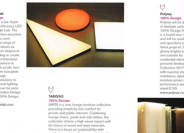 ICON 100% Design products October 2013 - Glowform feature
