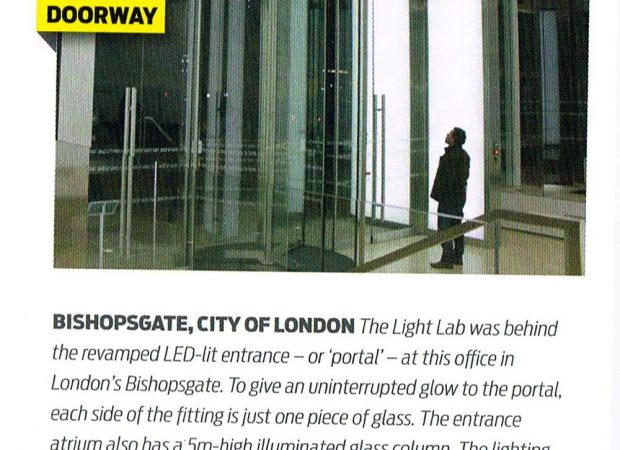 Bespoke Lighting Manufacture for Gensler featured in Lux Magazine Sep 2013