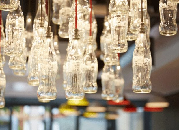 Bespoke Chandeliers   Coca Cola HQ   The Light Lab