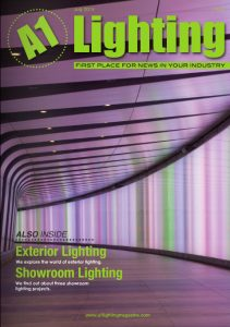 The Light Lab cover stars A1 Lighting