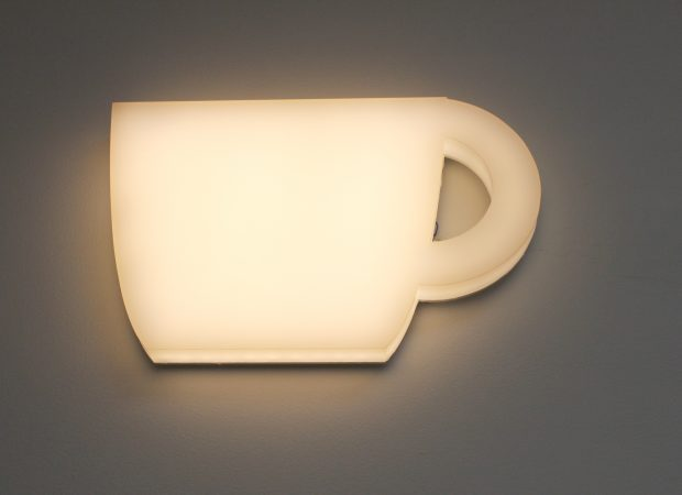 bespoke glowform teacup | specialist lighting design | The Light Lab