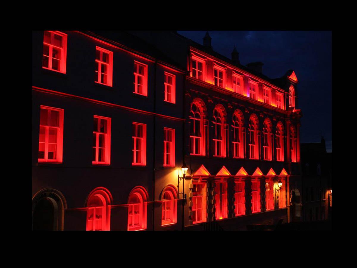 Derry Playhouse | Exterior lighting