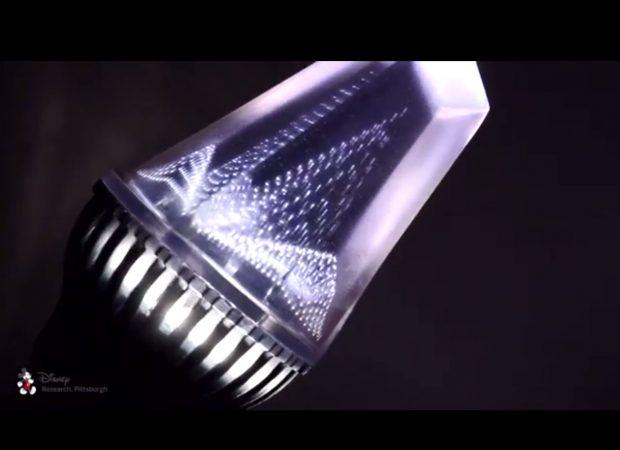 Disney research into printed optics