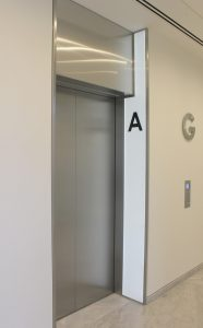 One Carter Lane | LED lift panel | The Light Lab