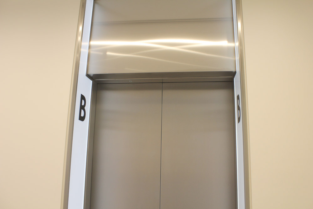 One Carter Lane | LED lift panel | The Light Lab
