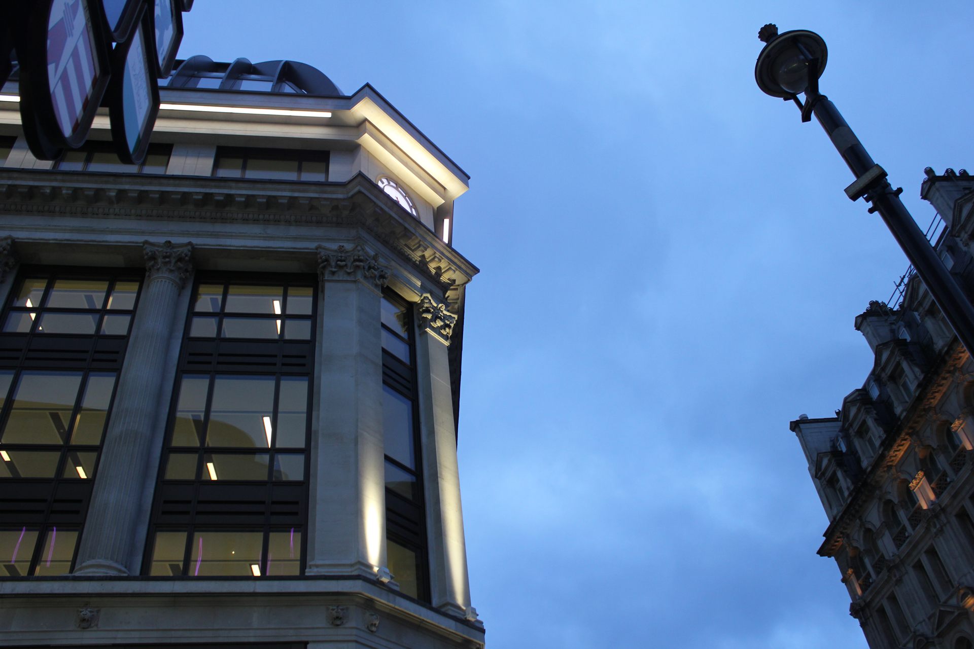 Groovy Leicester Square Exterior Facade Lighting The Light Lab Largest Home Design Picture Inspirations Pitcheantrous