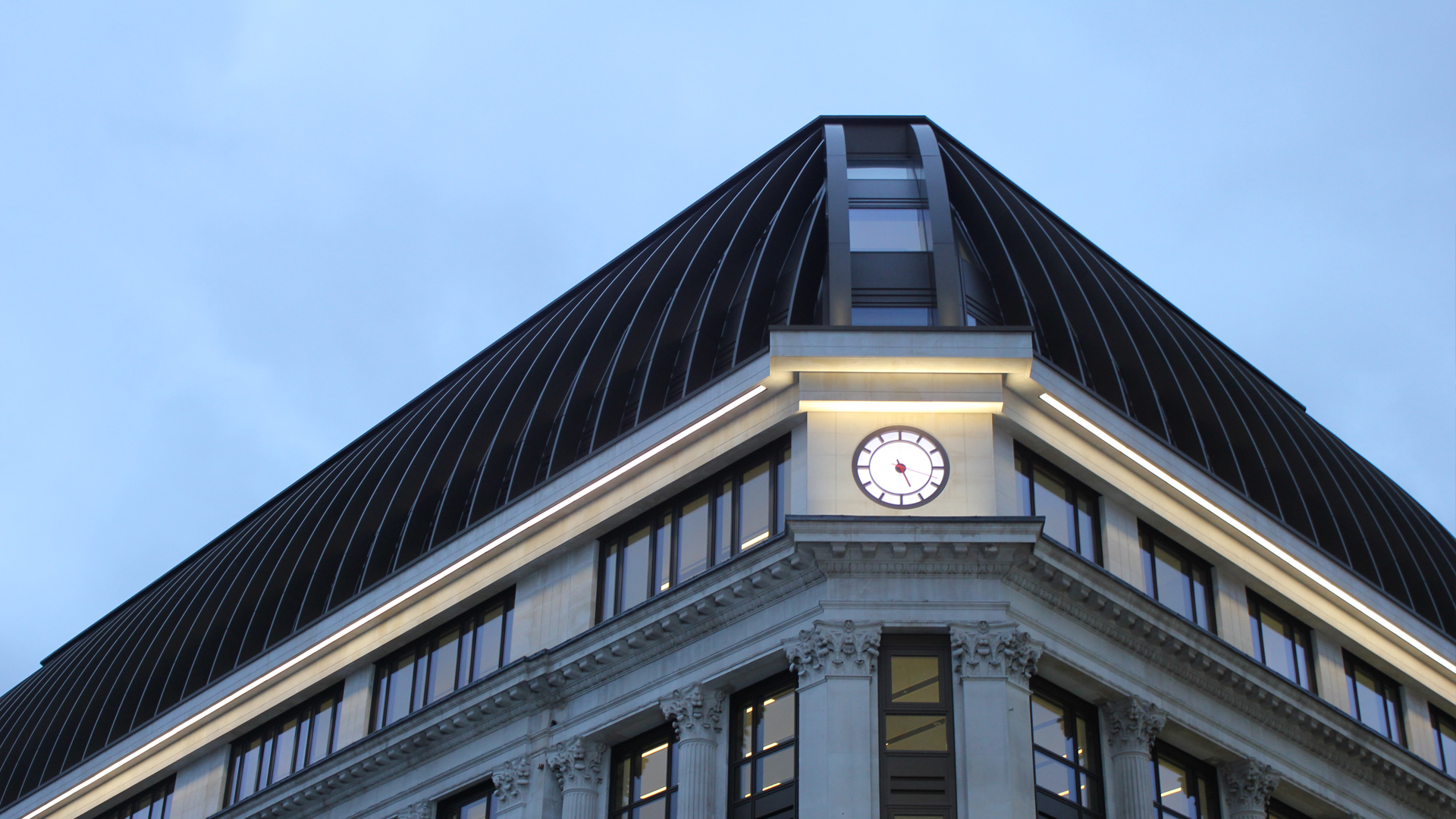 Surprising Leicester Square Exterior Facade Lighting The Light Lab Largest Home Design Picture Inspirations Pitcheantrous