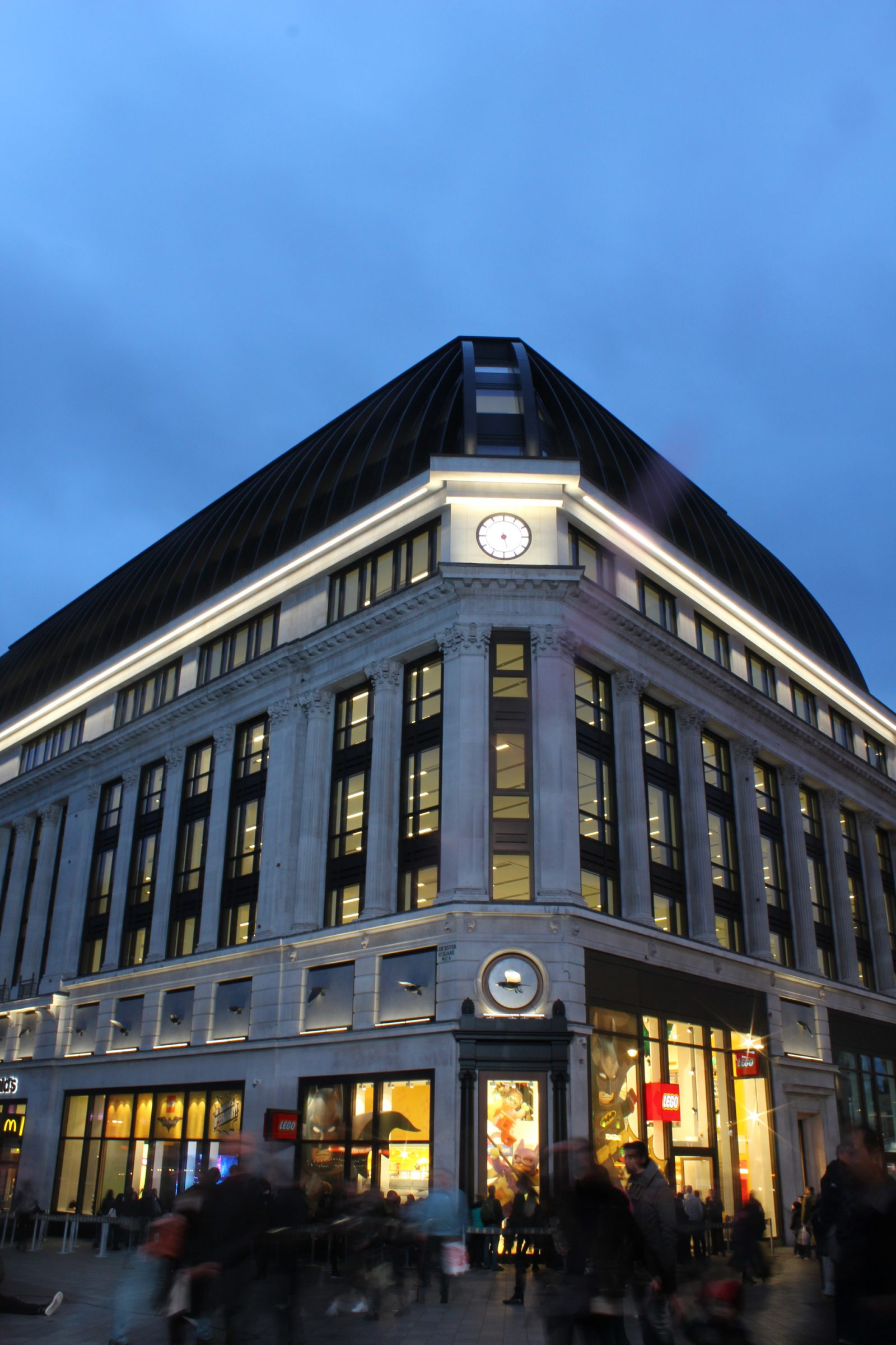 Excellent Leicester Square Exterior Facade Lighting The Light Lab Largest Home Design Picture Inspirations Pitcheantrous