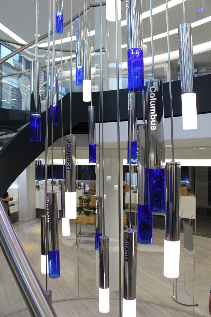 Jones Day | Specialist lighting installations | The Light Lab