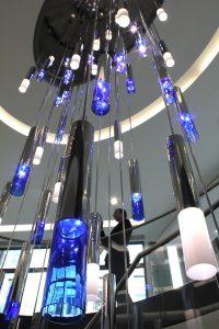 Project Spotlight; Bespoke chandelier | Jones Day London | The Light Lab