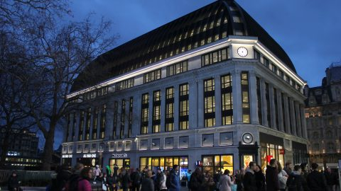 48 Leicester Square | Exterior facade lighting | The Light Lab