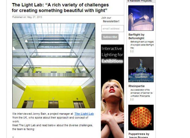 The Light Lab interview - Enlighter Magazine