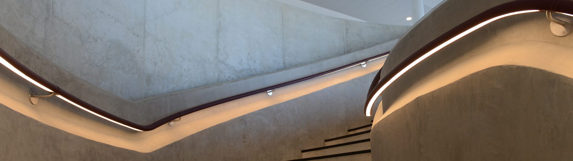 Hiscox York | LED handrail | The Light Lab