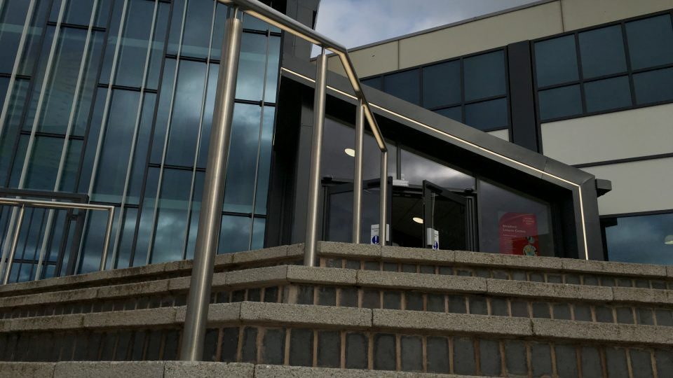 Stratford Leisure Centre | Exterior lighting | The Light Lab