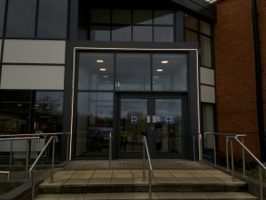 Stratford Leisure Centre | Exterior lighting | The Light Lab
