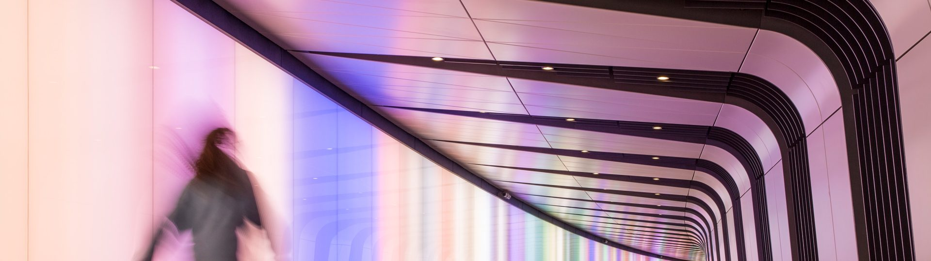 Specialist lighting solutions | Kings Cross Tunnel | The Light Lab