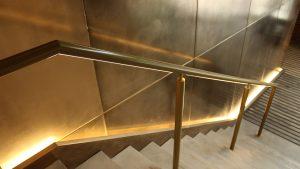 Jamestown Road   Bespoke lit handrail   The Light Lab