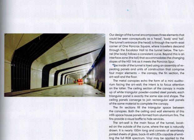 Kings Cross, St Pancras Tunnel Link