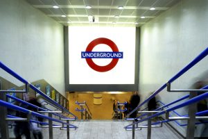 Kings Cross Underground Station | public realm lighting | The Light Lab