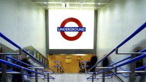 Kings Cross Underground Station | public realm lighting | The Light Lab