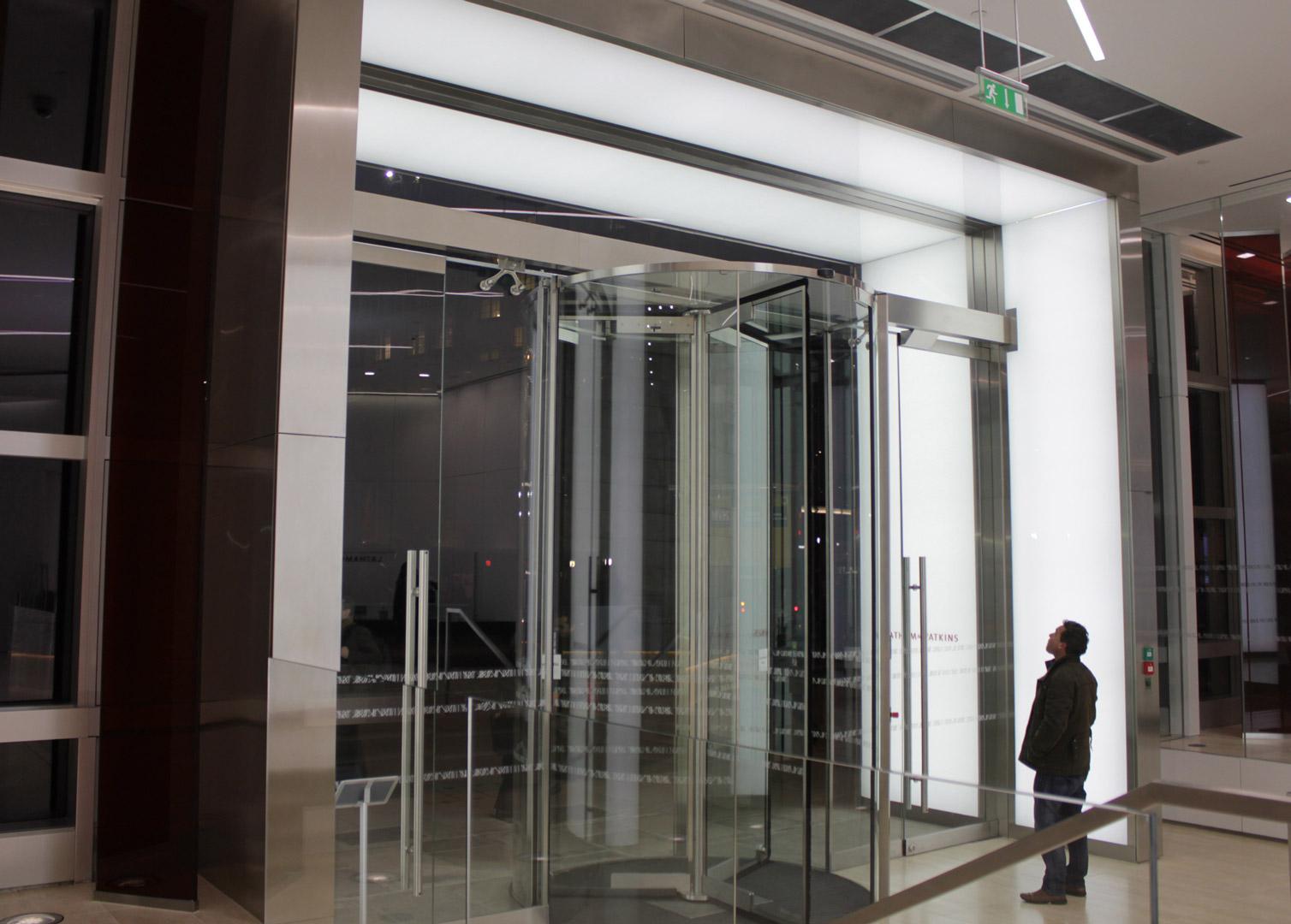 Lighting Installations | 99 Bishopsgate | Light Lab