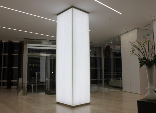Lighting Installations | 99 Bishopsgate | Light Lab