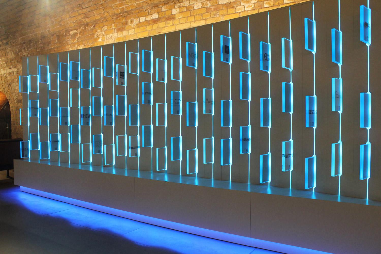 Lighting Installations | CP Hart showroom | Light Lab