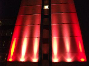 Lighting Installations   International House   Light Lab